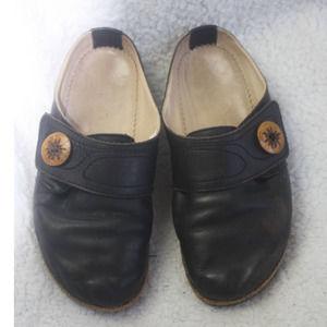 Haflinger Ladies Leather Clog
